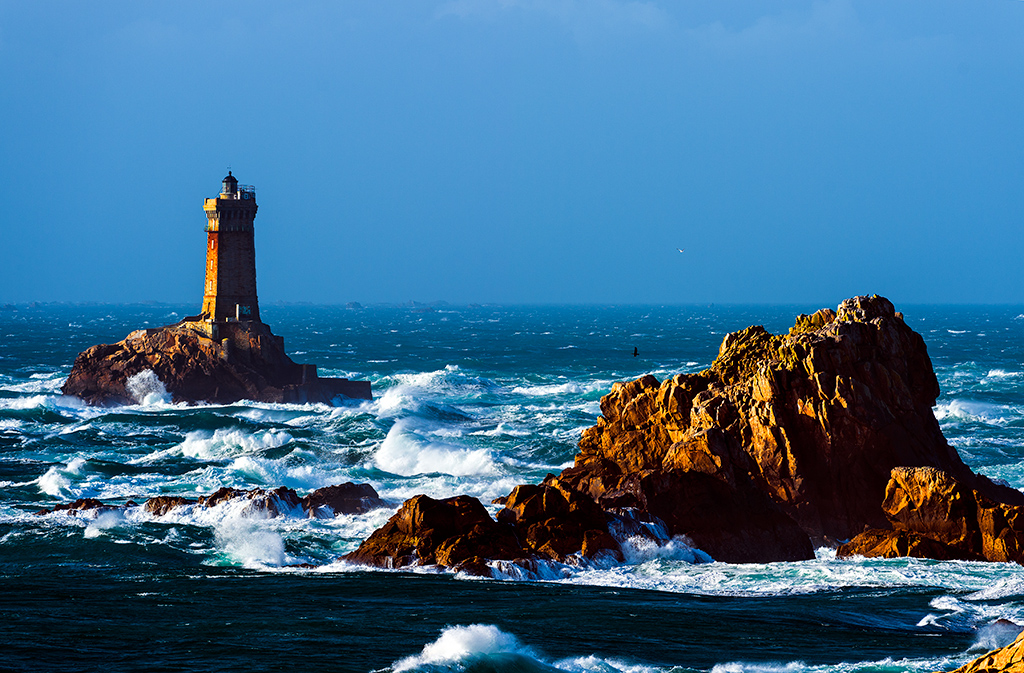 Le phare de la Vieille at the La Pointe du Raz
