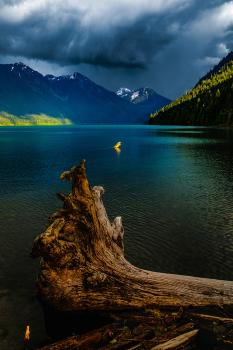 Storm over Chilliwack Lake